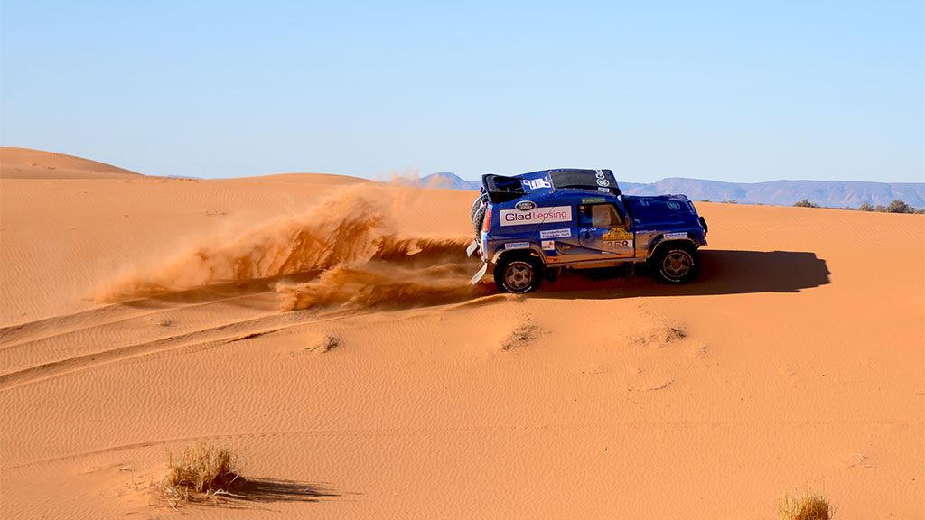 Fra Merzouga Til Zargora I Intercontinental Rally 2017