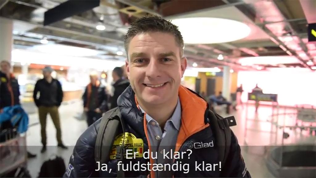 Team Glad På Vej Til Intercontinental Rally 2017